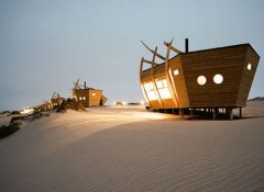 Anywhere in Africa Safaris Namibia in der Shipwreck Lodge